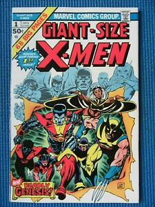 GIANT-SIZE X-MEN # 1 - (VF+) -1ST APP NEW TEAM,2ND FULL WOLVERINE,CYCLOPS,STORM