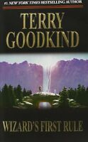 Wizard`s First Rule (sword Of Truth, Book 1) By Terry Goodkind, (mass Market Pap
