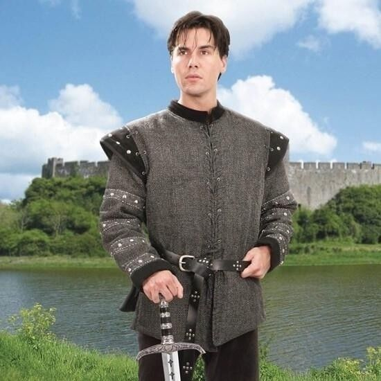Medieval Mordred Gambeson. Ideal for Stage, Costume and Re-enactment or LARP