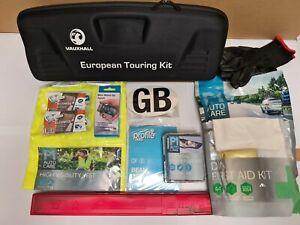 Genuine-Vauxhall-European-Touring-Travel-Kit-Emergency-EU-Abroad-Europe-UKVGETDS