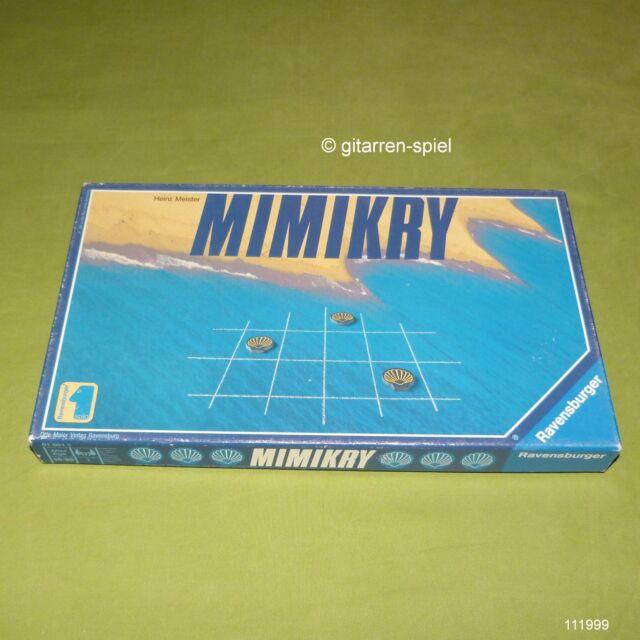 Mimikry - Solitärspiel ab 10 Jahren von Heinz Meister Ravensburger ©1989 rar Top