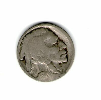 1914 Buffalo Nickel in Lower Grade Scarce Date Priced to MOVE Shipped Free