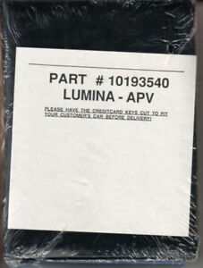 chevrolet lumina owners manual chevy apv minivan 1991 handbook guide rh ebay com 1997 Chevy Lumina 1996 chevy lumina apv owners manual