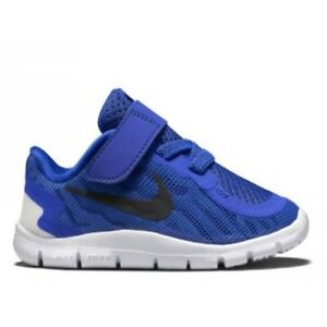check out 4cd27 cdcb1 Details about Nike Free 5 (TDV) Toddler Boy Blue Black White Athletic  Running Shoe Sneaker New