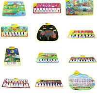Kids Touch Play Keyboard Musical Carpet Mat Singing Learning Developmental Toys