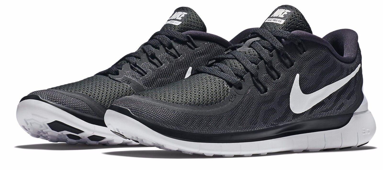 fino al 50% di sconto Nike Donna Donna Donna  Free 5.0 nero bianca Dark grigio 724383-002 Sz 6.5 10  comodamente