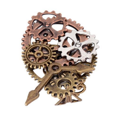 Anillo de Patrón Engranaje Estilo Steampunk