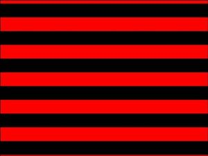 Red Black Stripe Background Edible Cake Topper Wafer Or Icing Cake
