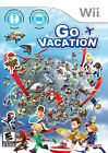 Wii Go Vacation Game Family Fun Enjoy 50 Sports and Activities Nintendo PAL