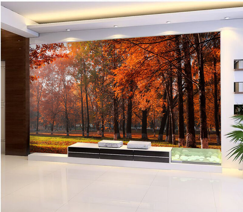 3D Autumn leaves 266 Wall Paper Wall Print Decal Wall Deco Indoor Wall Murals