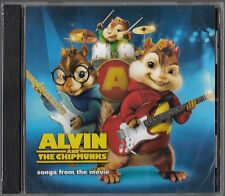 Alvin and The Chipmunks songs of the movie (CD, 2008) Brand New Sealed!