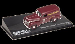 OPEL Olympia fourgon Kastenwagen VOITURE MINIATURE COLLECTION IXO 1//43 CAR 88
