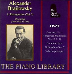 FREE US SHIP. on ANY 3+ CDs! NEW CD : Concerto for Piano & Orchestra (Brailowsky