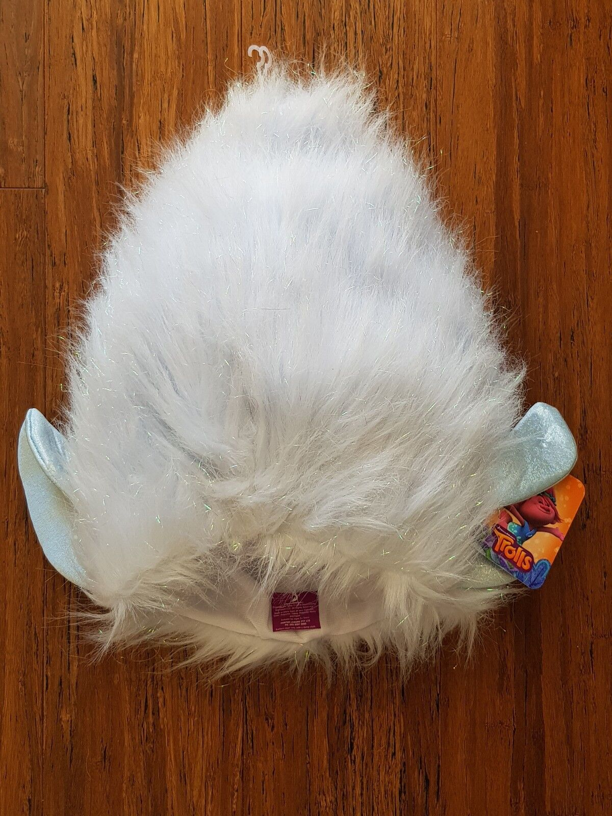 Trolls Guy Diamond Wig Hat Cap Hair Dress Up Costume Accessory Halloween 22