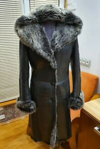 S-100-real-shearling-jacket-women-with-hood-leather-sheepskin-black