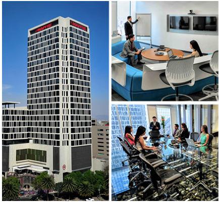 Oficina En Renta En Centro De Negocios En Mapfre Para 4 Personas (m2o263)