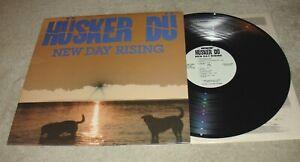 Husker-Du-New-Day-Rising-1985-SST-LP-With-Lyric-Inner-Sleeve
