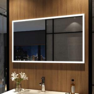 Led Badspiegel 100x60 Cm Badezimmerspiegel Lichtspiegel Spiegel