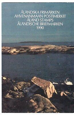 Aland Jahresmappe 1990 Komplett Europa Postfrisch Hoher Standard In QualitäT Und Hygiene