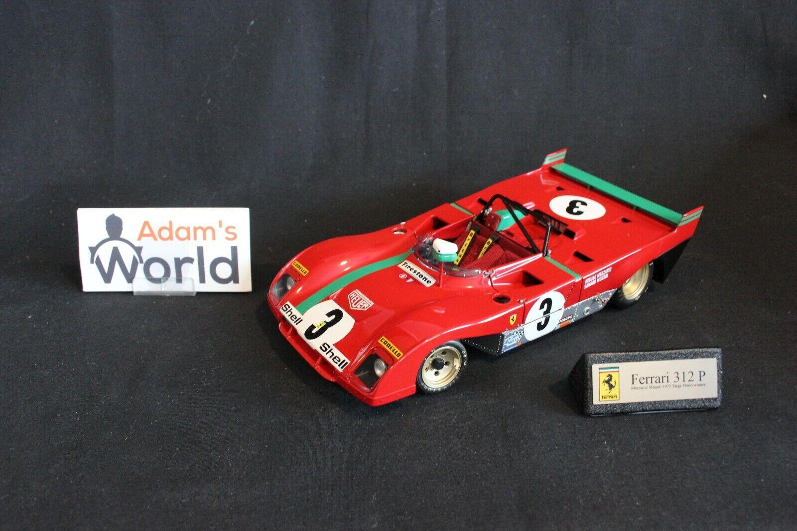 GMP Ferrari 312p 1972 1  18 35cos3 Andretti   Munari campeón Targa Florio (pjbb)