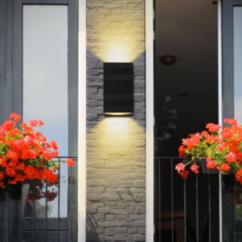 Antik LED Wandleuchte Industrie Wand Lampe Außen Treppenhaus Café Garten lampe