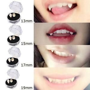Cosplay-Fake-Dentures-Vampire-Teeth-Ghost-Devil-Fangs-Costume-Halloween-Hot-YU