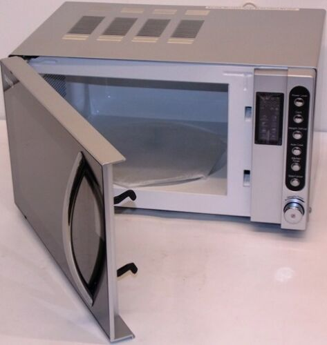 800w maff E 20lit Sanyo EM-S2298V Silver Compact Size Microwave Oven,
