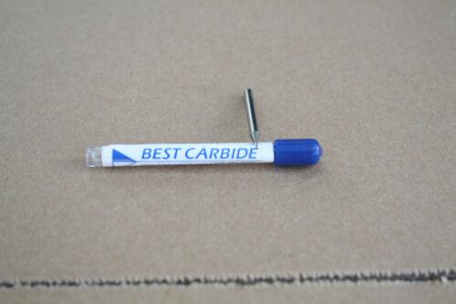 "BEST CARBIDE 2 FLUTE 1//16/"" UNIV APPLICAT STUB LENGTH  END MILL /""NEW/"""