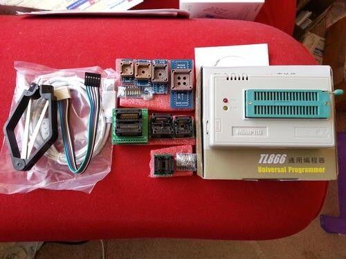 TL866II Plus Willem Universal Ecu/Chip/MCU USB Programmer + 10 Adapters, Mini Pro, R1999