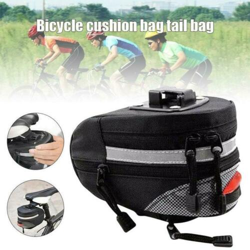 Cycling Bike Bicycle Saddle Back Seat Rear Bag Rainproof Seat Seatpost Tools Bag