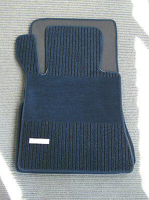 Fußmatten passend für Mercedes S-Klasse W126 SEL Limousine in  Rips anthrazit