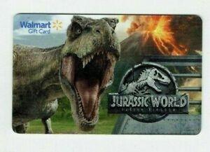 Walmart-Gift-Card-Jurassic-World-Dinosaurs-No-Value-I-Combine-Shipping