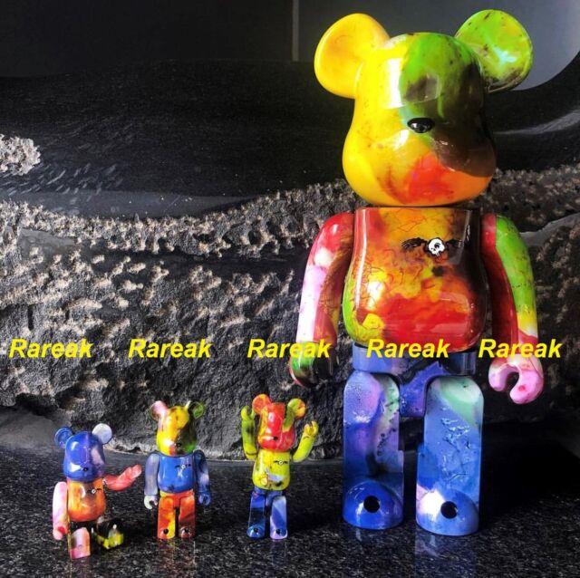 1de4810d Medicom Toy Bearbrick Be@rbrick Pushead Different Color 100 400 Set ...