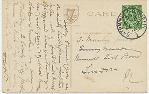 2463-RATHMINES-D-O-DUBLIN-1-superb-rare-double-ring-29-mm-UNUSUAL-TYPE