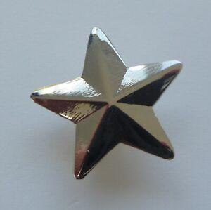 968da36ff09 Metal Enamel Pin Badge Brooch Star 3d 5 Five Pointed Star Pentagram ...
