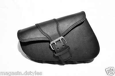 Large side bag harley motorcycle Big closure (for iron nighster sportster forty