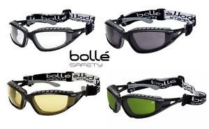 d62900903b19 Image is loading Bolle-TRACKER-Safety-Goggles-Glasses-Spectacles -avaiable-wtih-