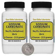 Sodium Carbonate Cna2o3 99 Acs Grade Powder 8 Oz In Two Plastic Bottles Usa