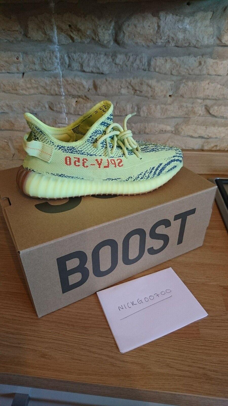 Adidas Yeezy Boost 350 v2 v2 v2 GIALLO Frozen Tg  paga NON DO  per FALSI  9e4e79
