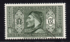 Italy 10 Lire + 2.50 Lire Stamp c1932 (March) Used (5662)
