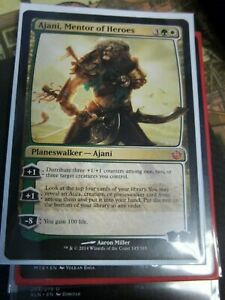 Journey Into Nyx Near Mint Ajani 1x Mentor of Heroes x1 English -BFG- MTG