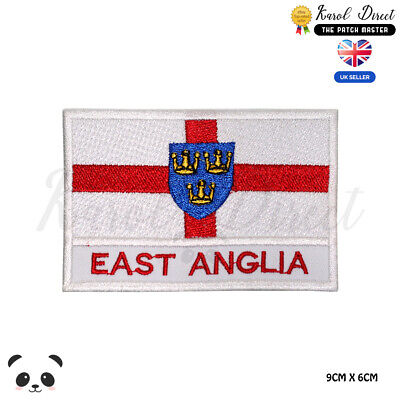 Sew on or Iron on England Embroidered Patch