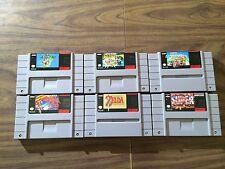 Super Metroid +Zelda: A Link to the Past +Mario World +Allstars +Kart +1 (SNES)