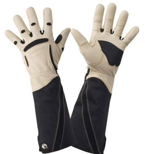 Bionic Men's Gauntlet Protective Gloves. Leather & ToughEx Thorn Resistance