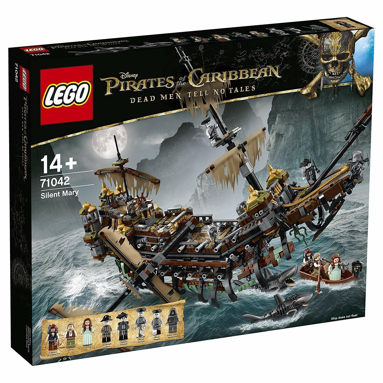 perfezionare LEGO 71042 Pirates of the autoibbean-maledizione dei autoaibi autoaibi autoaibi SILENT Mary NUOVO  Prezzo al piano