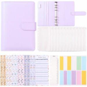 Money Label Sheets Budget Cash Envelopes Cash Plan Notebook Binder Cover