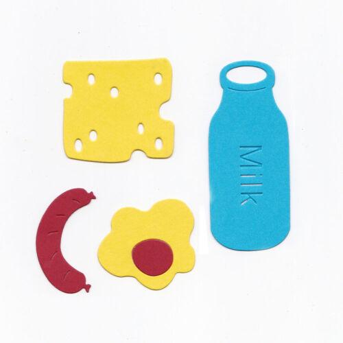 DIY Frühstück Design Stanzschablone Prägeschablone Stanzmaschine Stanzformen