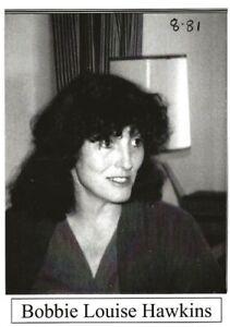 BOBBIE LOUISE HAWKINS BOULDER COLORADO 1981 BEAT WRITERS PHOTO POSTCARD #39