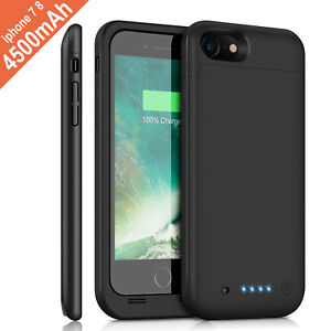 For-iPhone-6s-7-8-Plus-Battery-Case-Ultra-Slim-Extended-Batery-Backup-Black