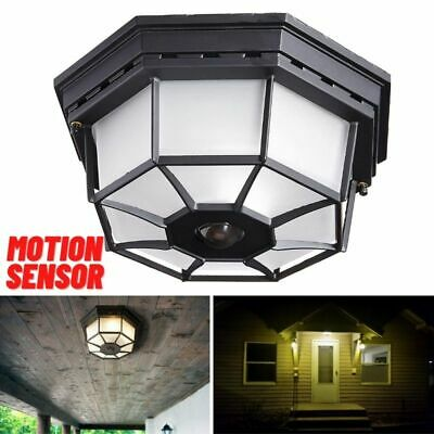 Motion Sensor Entryway Light Dusk To, Outdoor Porch Ceiling Lights With Motion Sensor